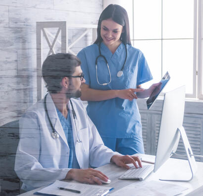 2 doctors and a computer